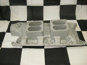 Offenhauser 5486 Ford Dual Quad Intake Manifold Small Block Ford 260 289 302
