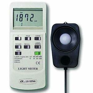 Digital Lux Meter 0 To 100000 Lux 3 Ranges With 4 Selectable Light Types T