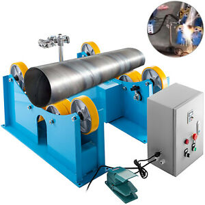 Welding Turning Roll Rotary Welding Positioner 6600lbs Support Weld Rotator 220v