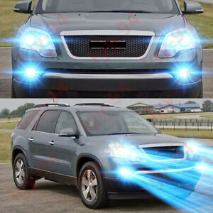 For Gmc Acadia 2007 2008 2009 2010 2011 2012 6x 8000k Led Headlight Fog Light