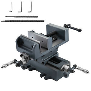 4 Precision Compound Cross Slide Benchtop Drill Press Vise Work Table