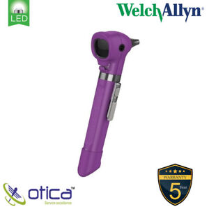Welch Allyn Pocket Led Otoscope With Aa Battery Handle 4 Reusable Specula