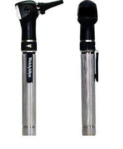 Welch Allyn Pocket Otoscope 22860 With Metal Handle And 5 Specula