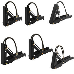Hydraulic Backhoe Thumb Excavator 6 Size Passembly Weld On Universal Tractor