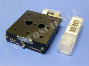 New Newport 423 Precision Linear Translation Stage With Sm 13 Micrometer