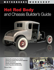 Hot Rod Body And Chassis Builder S Guide Book Brand New Scta 1932 Ford Asc