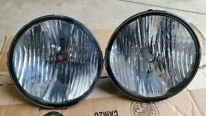 2005 09 Oem Ford Mustang Gt Grill Fog Lights With Bulbs 06 07 08