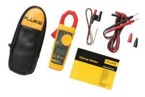 Fluke 325 True Rms Ac Dc Current And Voltage Tester Capacitance Clamp Frequency