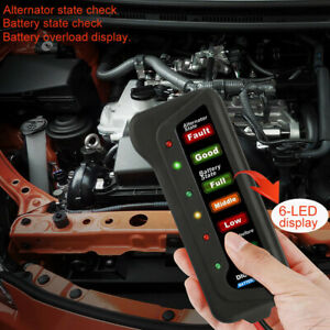 Ancel Bst100 Automotive Battery Tester Car Battery Load Checker Diagnostic Tool