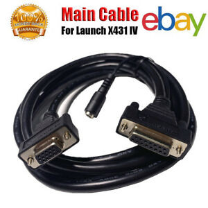 Original Obd2 Main Test Connector Adaptor Cable For Launch X431 Iv