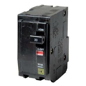 Square D Qo 30 Amp 2 pole Circuit Breaker