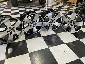 Vw Vanagon Eurovan Gti Look Westy Syncro T3 15 5x112 Bolt Alloys Wheels Rim Set