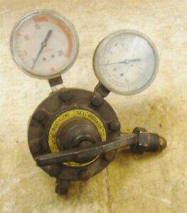 Ncg National Cylinder Gas 6505 Acetylene Regulator Fully Functional Free S h Rk2