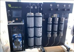 40l 2x20l Co2 Supercritical Extraction System 5 000psi High Efficiency