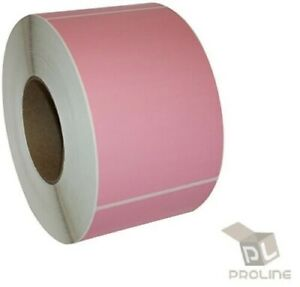 Pink Zebra 4x6 Shipping Labels Direct Thermal Lp 2844 Zp 450 250 Roll 1 Roll