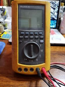 Fluke 863 Graphical Multimeter multi Meter With Leads Used