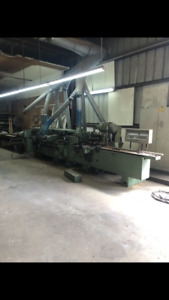 Weinig Moulder 9 Heads 1984 Clean And Serviced