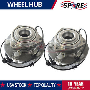 Pair 2 Front Wheel Hub Bearing Assembly For 2005 2010 Jeep Grand Cherokee 513234