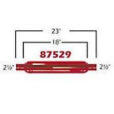 Cherry Bomb 87529cb Red Glass Pack Muffler Straight 2 5 Inlet Outlet 23 l