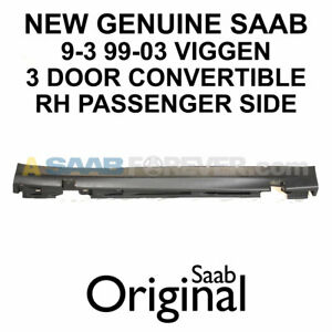 New Saab 9 3 Viggen 3d Convertible Side Skirt Passenger Right Side Oem 5120365