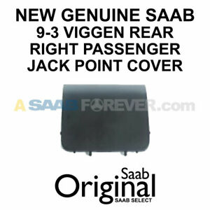 New Genuine Saab 9 3 Viggen 98 02 Right Rear Passenger Jack Point Cover 5124482
