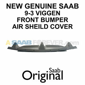 Viggen Front Bumper Air Sheild Cover New Saab 9 3 Genuine 99 02 Oem 5122551