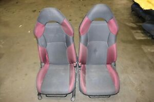 Jdm Toyota Celica Gts Gt Oem Front Seats Pair Left Right Zzt231 2000 2005