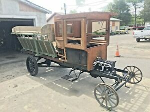 Wwi Model T Tt Ford Troop Carrier Truck Antique War Military