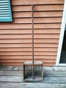 Old Vtg Antique Primitive Cranberry Bog Harvest Sifter Wood Box