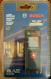 Bosch Glm 20 Compact Blaze 65 Laser Distance Measure New