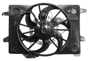 Radiator And Condenser Fan For Ford Crown Victoria Lincoln Town Car 98 00