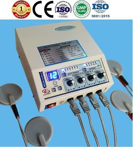 Professional Electrotherapy 4 Channel Cont Modephysical Therapy Delta Pulser 03