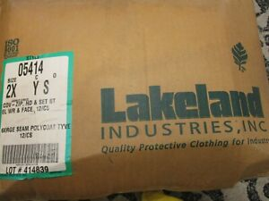 Lakeland Protective Wear 05414 Chemical Resistant With Hood Tychem Qc Polycoated