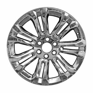 Genuine Gm 22 Wheel 7 Split Spoke Chrome 84346100