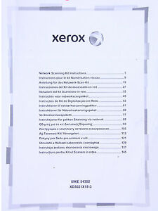 Xerox Network Scanning Kit License For Color 550 560