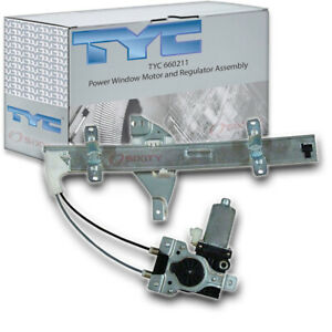 Tyc 660211 Power Window Motor And Regulator Assembly For General Motors Of