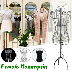 67 Vintage Style Wire Dress Form Mannequin Boutique Holder Store Display