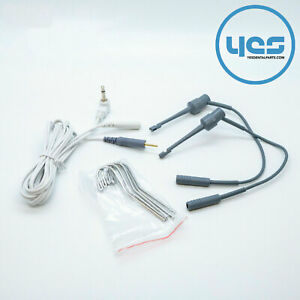 New Probe Cord Kit Dental Apex Locator Root Canal Test Wire Cable Ships From Usa