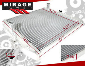 2 row Full Aluminum Radiator For Manual Mt 92 00 Civic Ej ek del Sol Eg integra