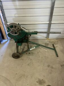 Greenlee 1818 Mechanical Bender W 1 2 2 Rigid Shoes Emt Shoes Avail 8150
