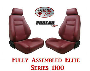 Procar Full Bucket Seats 80 1100 56 Elite 1100 Series For 1989 95 Ford Bronco