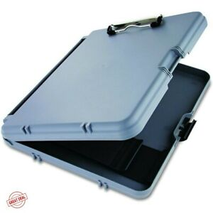 Contractor Clipboard Storage Case Plastic Box Holder Office Documents Protective
