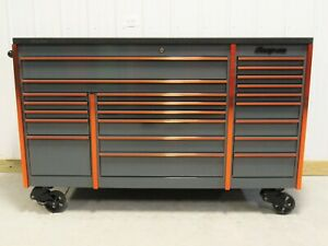 Snap On Storm Grey Orange Trim Krl1023 Tool Box Armor Edge Work Top