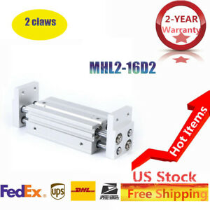 Mhl2 16d2 Double Acting Pneumatic Air Gripper Parallel Cylinder Parallel Style