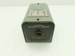 Allen Bradley 806 b12a Rotary Pilot Switch 2pole 3 pos Lift off drop Steel Lever