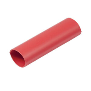 Ancor Heavy Wall Heat Shrink Tubing 3 4 X 48 1 pack Red