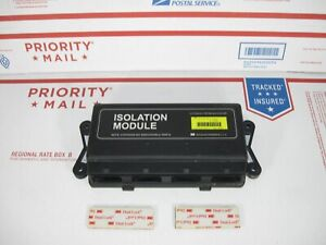 Western Fisher Plow 4 Port Isolation Module Yellow 26401 Same As Green 27781