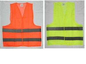 Safety Vest High Visibility Wholesale neon 24 pc 45 99 Mesh Fabric Unisex