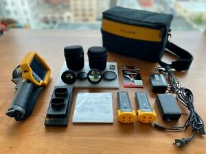 Fluke Ti32 Thermal Imager Infrared Camera With Extra Lenses Tele