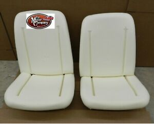 1966 1967 1968 Chevelle Bucket Seat Foam Bun Cushion Set Of 2 Made In The Usa